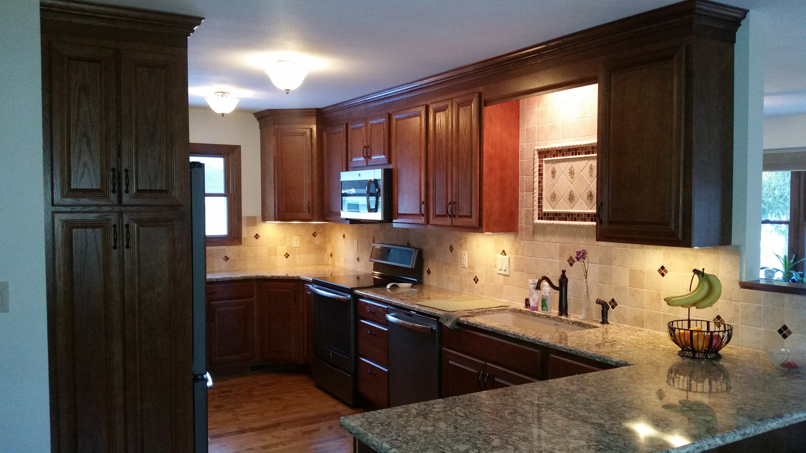 after kitchen remodel picture